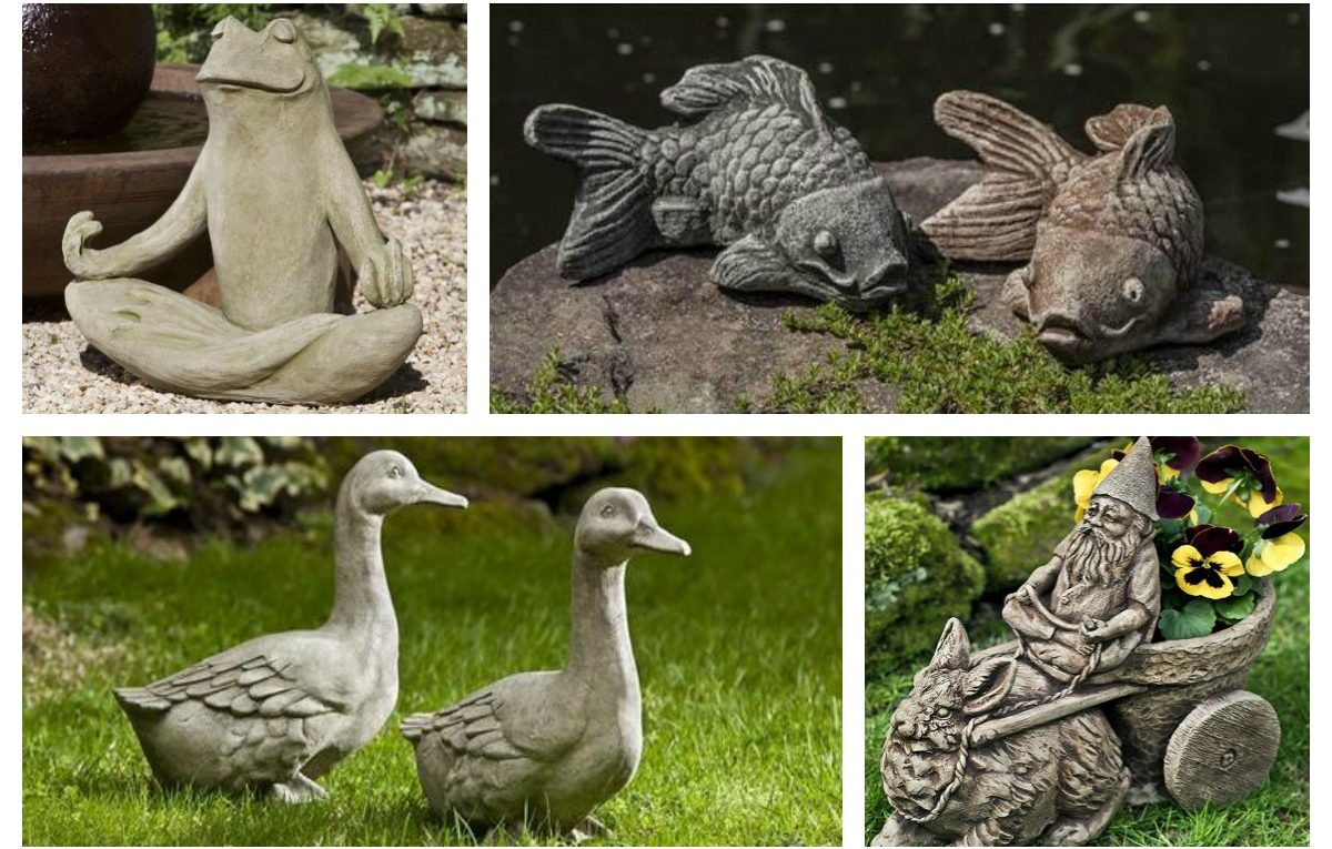 Garden-fountains Statuary gifts