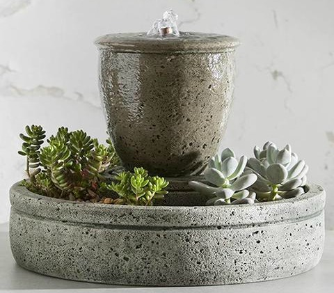 tabletop fountains garden-fountains