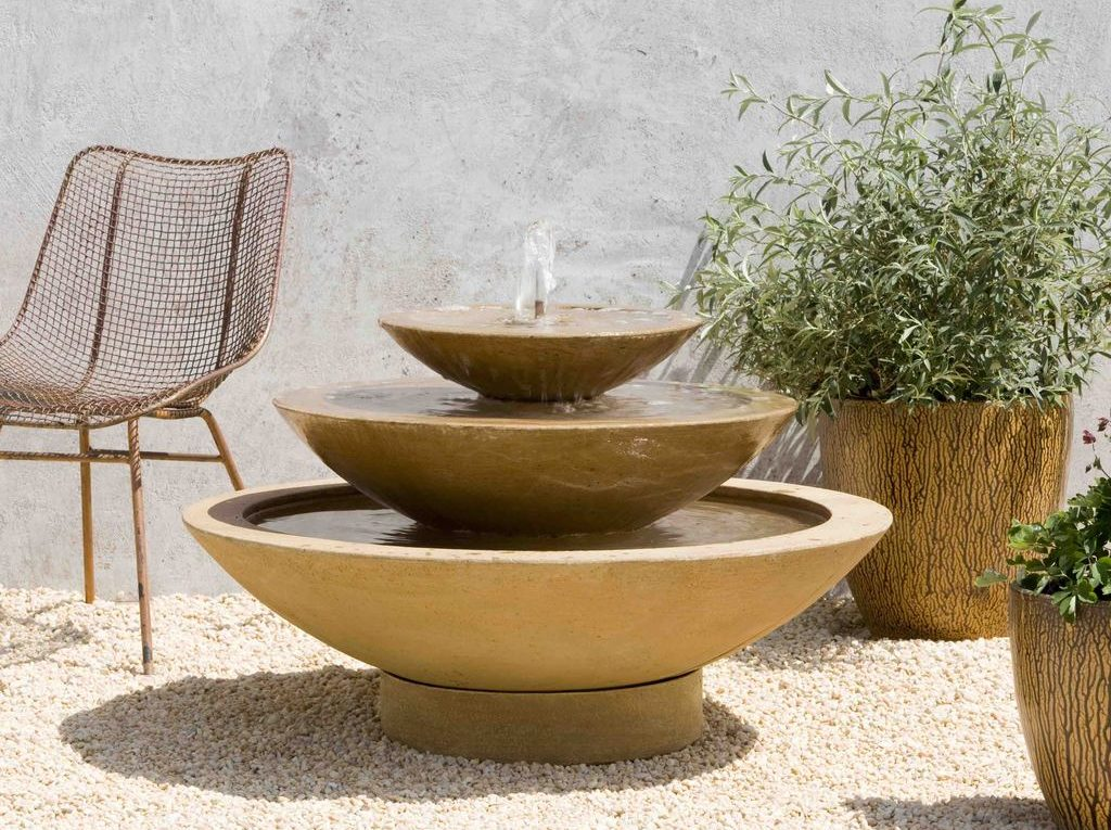 Campania Patinas Browns Garden-fountains
