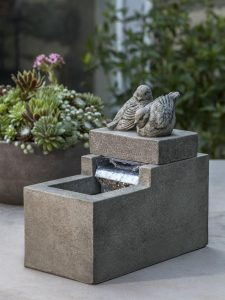 Mini Element Birds Garden-fountains