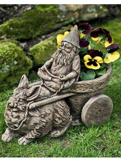 Gnome Coach Garden-fountains