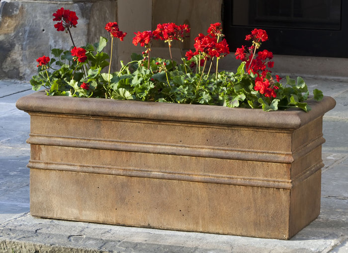 Classic Rolled Rim Window Box P-555