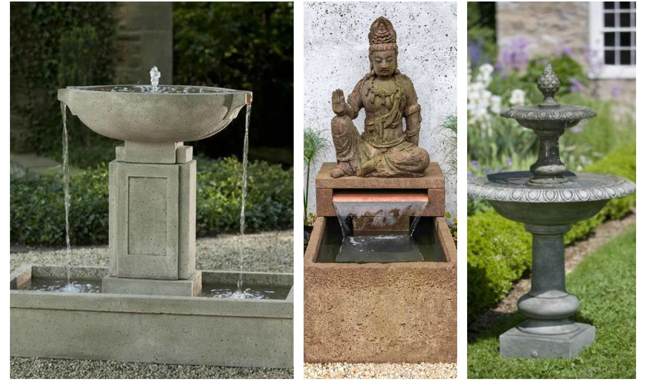 Types of Garden-Fountains
