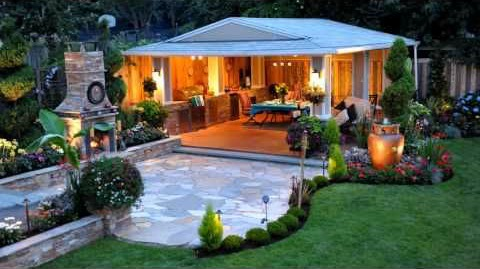 outdoor room garden-fountains