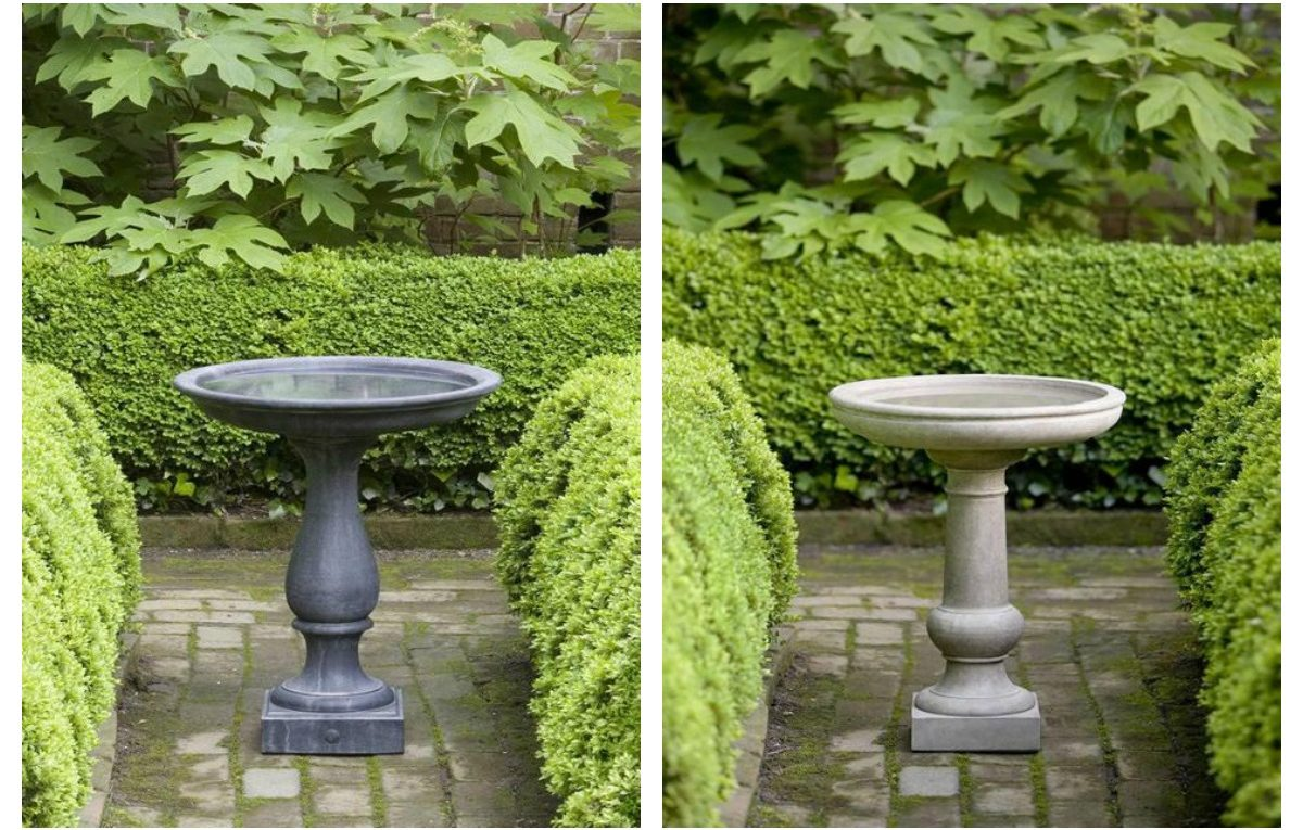 Williamsburg Bird Baths Garden-fountains