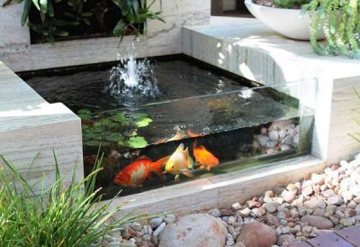 Outdoor aquarium Garden-Fountains