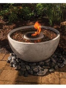 Small Fire Pit Garden-fountains